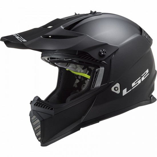 LS2 MX437 Fast EVO Solid Mat Black