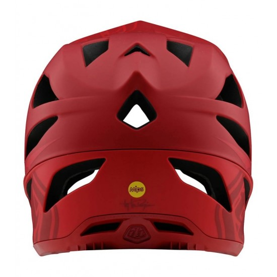 Troy Lee Designs Stage Stealth Red